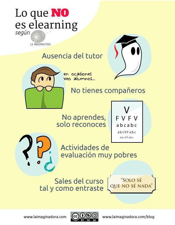 Lo que NO es el #elearning: que no te engañen! http://www.laimaginadora.com/blog/que-no-te-enganen-lo-que-no-es-e-learning/