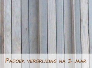 Gevelbekleding-padoek-vergrijzing (na 1 jaar)