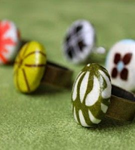 Make a Ring | Button Ring | Country Woman Crafts | Ring Making — Country Woman Magazine