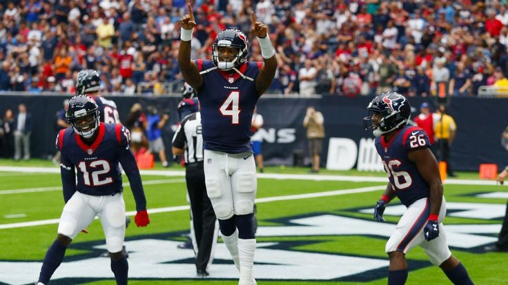 HOUSTON — Texans quarterback Deshaun Watson tied the NFL rookie touchdown record with five scores in his team's 57-14 victory over the Tennessee Titans, in which Watson led Houston to a franchise-record 57 points. Watson threw for four touchdowns and ran for a fifth in the win and... - #Deshaun, #NFL, #QB, #Record, #Rookie, #Ties, #TopStories, #Touchdo, #Watson