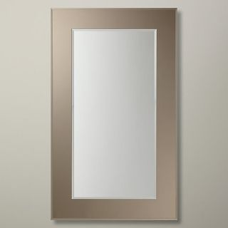 Buy John Lewis Marietta Mirror, Bronzed, 100 x 60cm Online at johnlewis.com