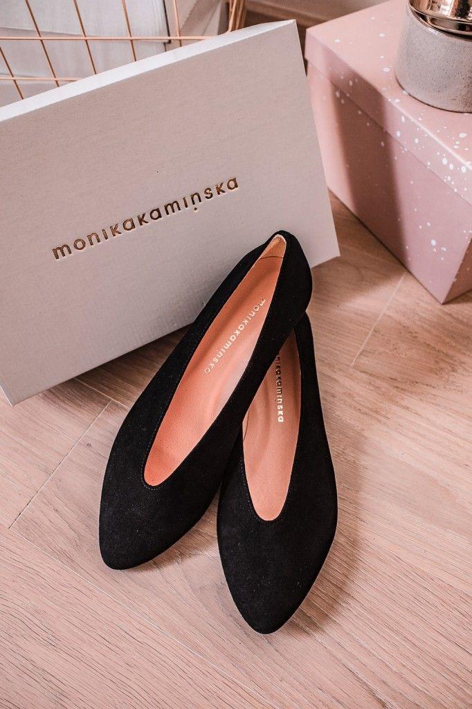 6b119a3ff6dd4c Audrey Classic - czarne balerinki - Monika Kamińska | accessoires w ...