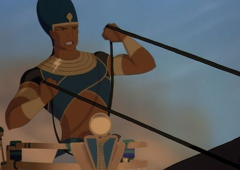 Ramses Dressed to Kill in 'Prince of Egypt'