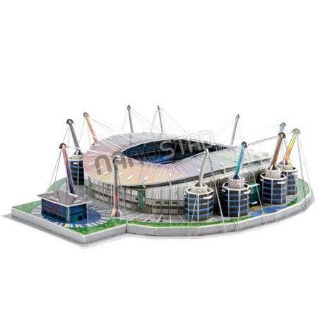 Maqueta para armar del Estadio 'Etihad' Manchester City #maqueta #puzzle #stadium #estadio #toys #juguetes