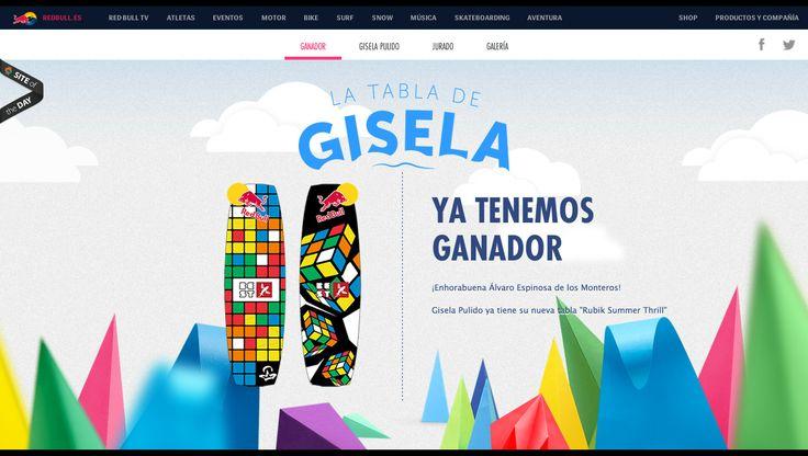 Red Bull - La Tabla de Gisela