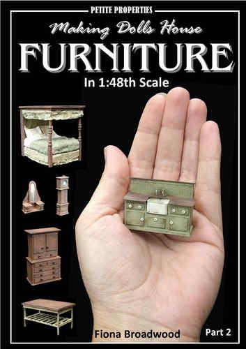 making 1/48 scale furniture book 2