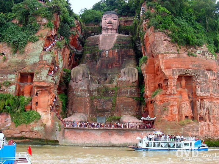 Dafo, The Giant Buddha, China | dMb Travel - Travel with davidMbyrne.com
