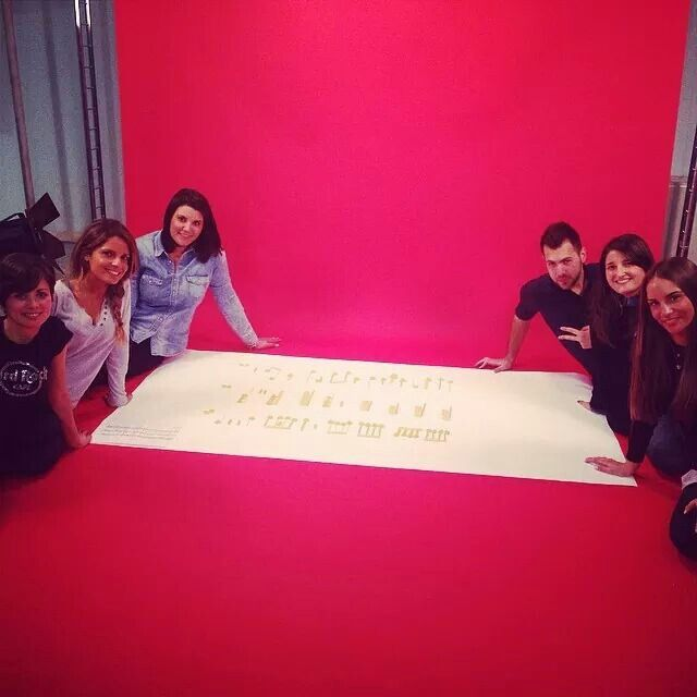 Si gira.. :) #Team #atWork #advertising #pasta and #music #backstage for #Neap #festival #Naples #italy