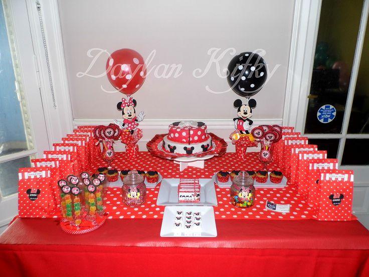 Fiesta Temática Minnie en rojo