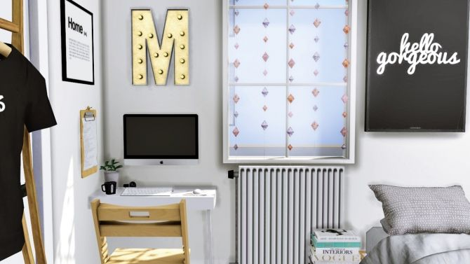 Office corner at MXIMS • Sims 4 Updates