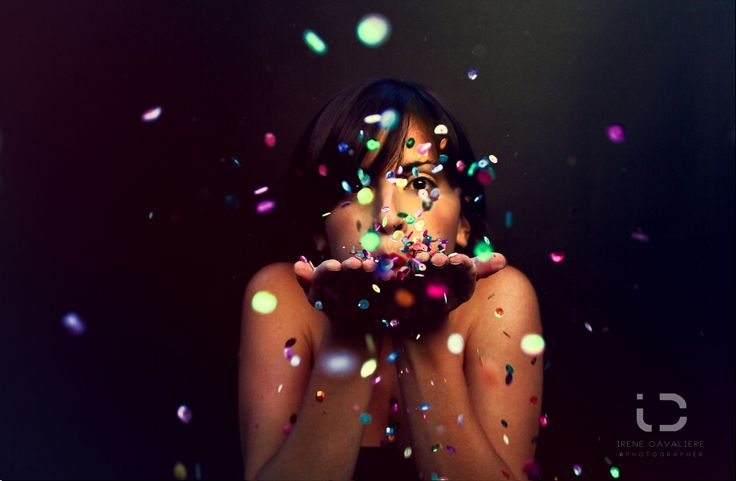 self portrait with paillettes by Irene Cavaliere on 500px