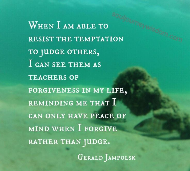 Peace of Mind-Quote by Gerald Jampolsk