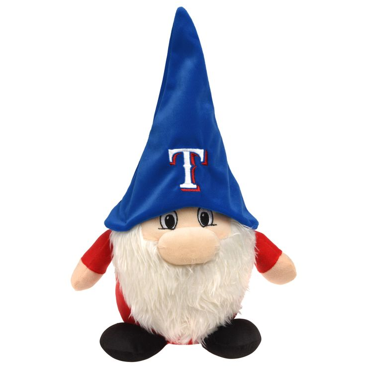 Forever Collectibles Texas Rangers MLB 7 Inch Team Gnome Plush