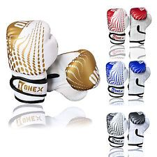 New Boxing Gloves Kids Junior Youth Sparring Training Mitts MMA 4-oz Muay Thai