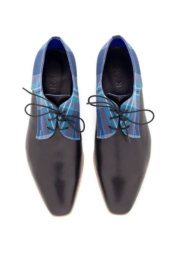 Valentine up to 20 off Women Oxford shoes Blue Plead от ARAMAshoes, $230.00