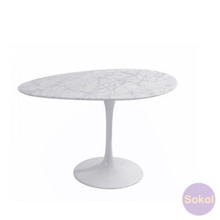 Replica Saarinen Tulip Marble Coffee Table