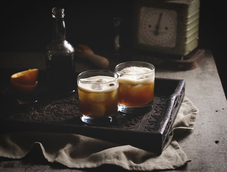 Burnt Whiskey Sour #cocktails #mixology