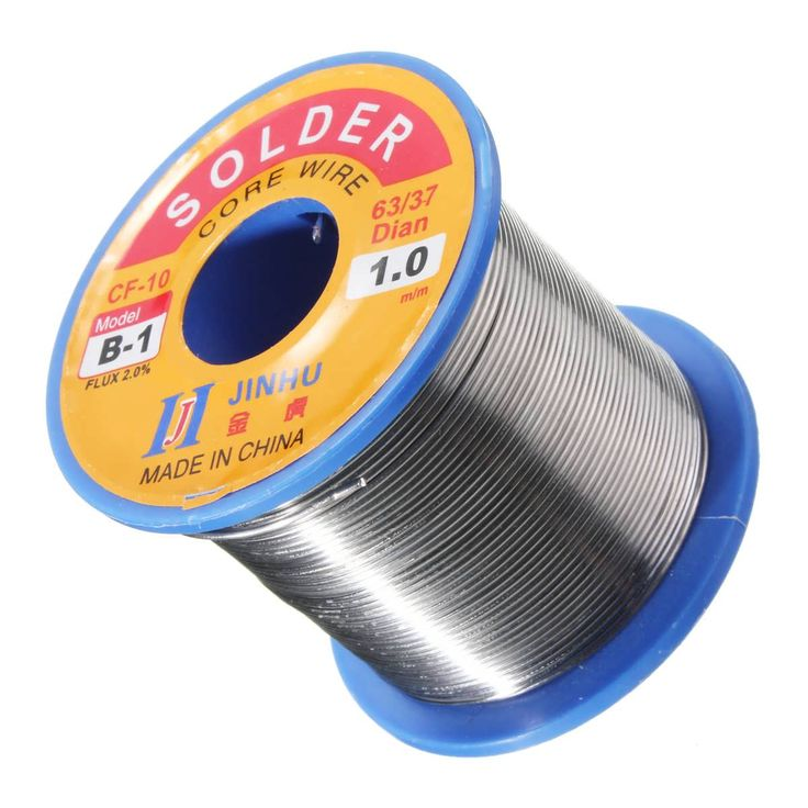 300g 1.0mm Reel Roll Welding Wire Welding Solder Wire 63/37 Tin Lead 1.2% Flux  Worldwide delivery. Original best quality product for 70% of it's real price. Buying this product is extra profitable, because we have good production source. 1 day products dispatch from warehouse. Fast &...