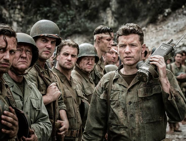 (@ww2_movies) FOLLOW FOR MORE!   Hacksaw Ridge   Mel Gibson said that the battle scenes were influenced by nightmares he had during his childhood, when his father Hutton Gibson, a WW2 veteran who served in Guadalcanal in the Pacific theatre, described the horrors he witnessed as bedtime stories.