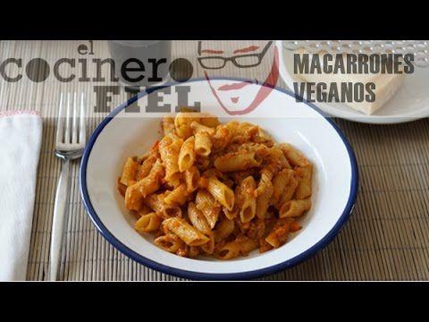 Cómo preparar macarrones veganos - Pasta - Comida y Bebida - Practicopedia.com