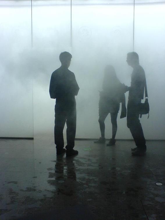 Antony Gormley: we're all walking in the fog trying to find where to go, trying to find what life has in store for us