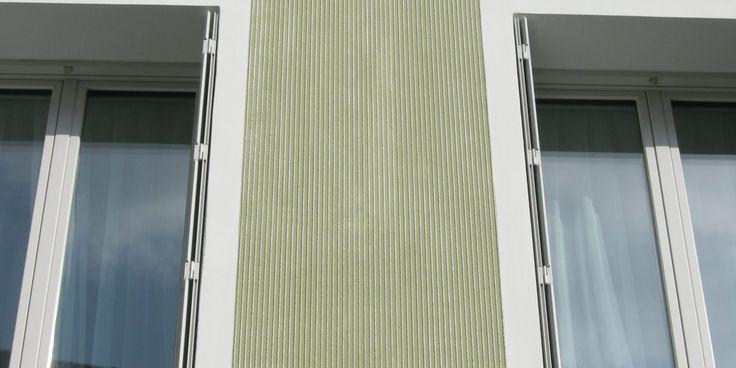 K5 EPS AuquaROYAL mineralisches System, Modellierputz Mineral, Rillenstruktur - Fassadensysteme, Wärmedämmsysteme, hinterlüftete Fassade, Natursteinfassade