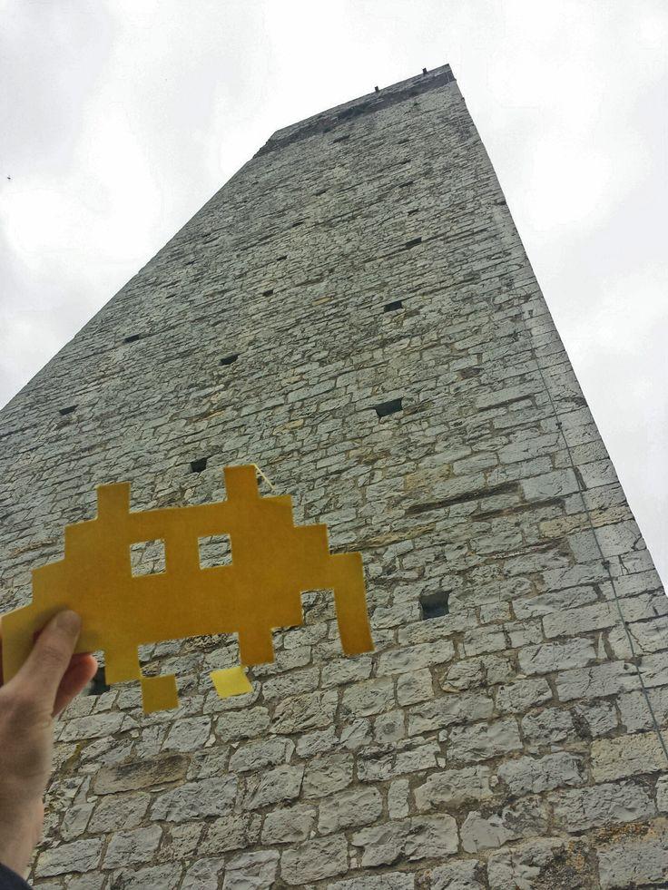 Invadiamo la torre del Barbarossa, alta 42 metri!