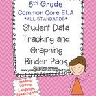 These Student Data Tracking Binders are an easy to implement system.    Put students in charge of tracking their own learning and data! With this S...