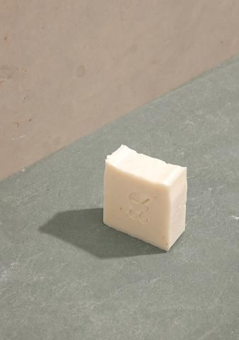 Baby soap, made with hand infused chamomile olive oil
