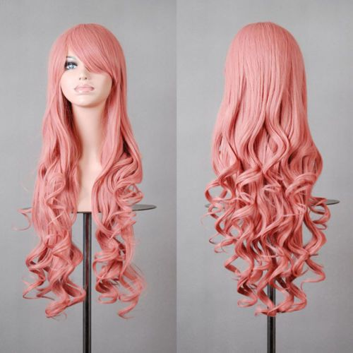 Fashion-Multi-Color-Womens-Wigs-Long-Curly-Anime-Costume-Cosplay-Party-Wig-32