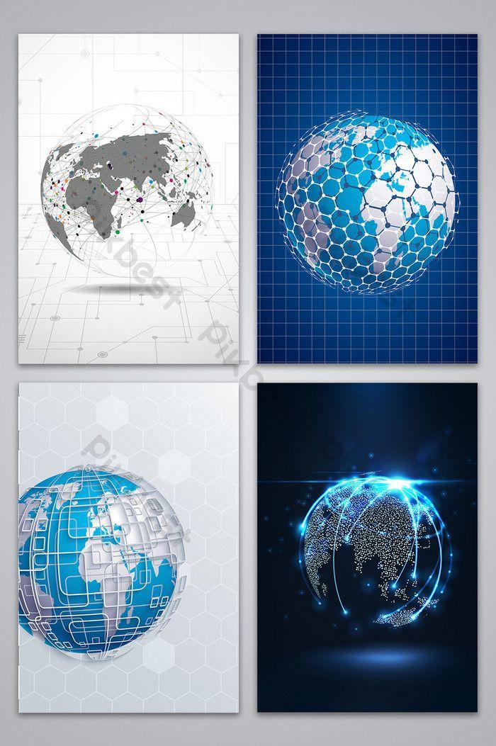 عمل خلفية الأرض فلم Pikbest Background Background Design Tech Background