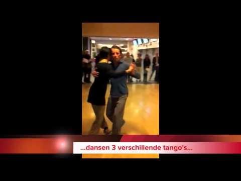 Tango in Rotterdam tijdens de laatste lessen cursus Spaans bij Fuentes.