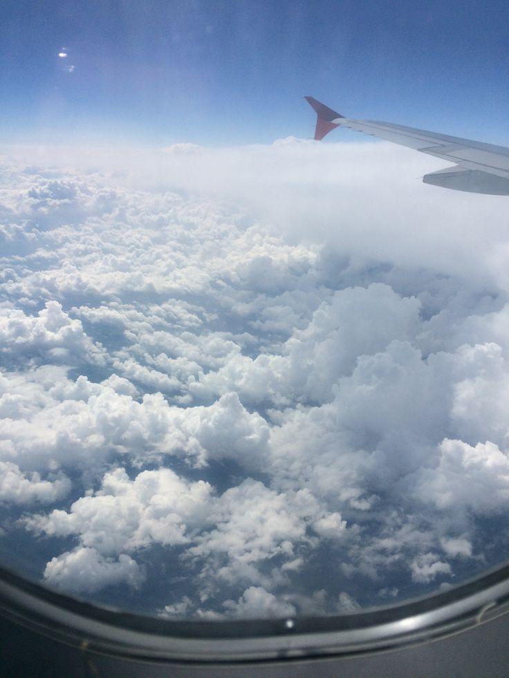 #flight #clouds #airplane