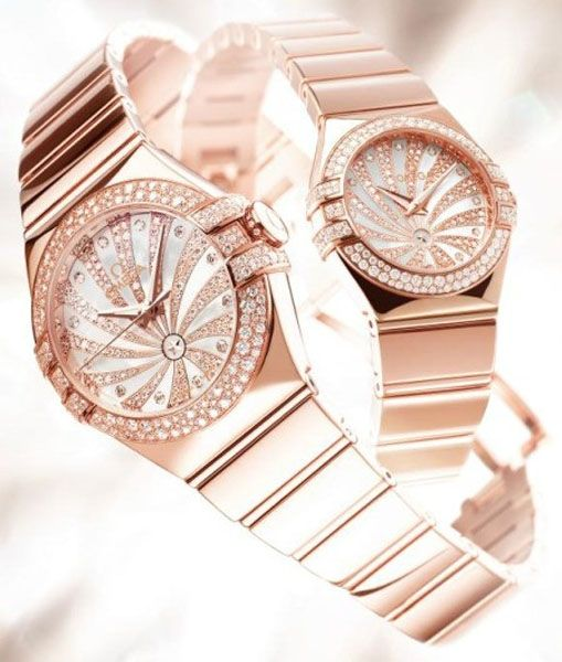 Omega Constellation watches for women via LuxeCrush.com