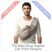 The Baba Sling Organik Çok Yönlü Kanguru http://minimintan.com/anne