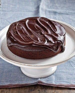 Dark chocolate olive oil cake. Karen Martini OLIVE OIL recipes for Epicure and Good Living.