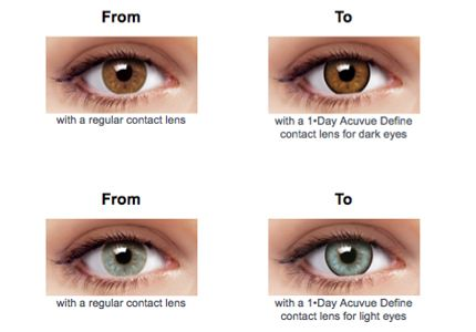 Day Acuvue Define Colors Natural Sparkle