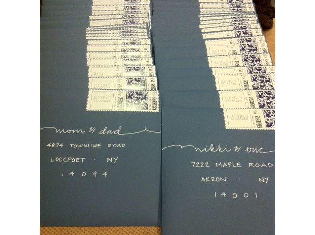 1000 images about Addressing Envelopes Invitations – Embossed Pocket Wedding Invitations