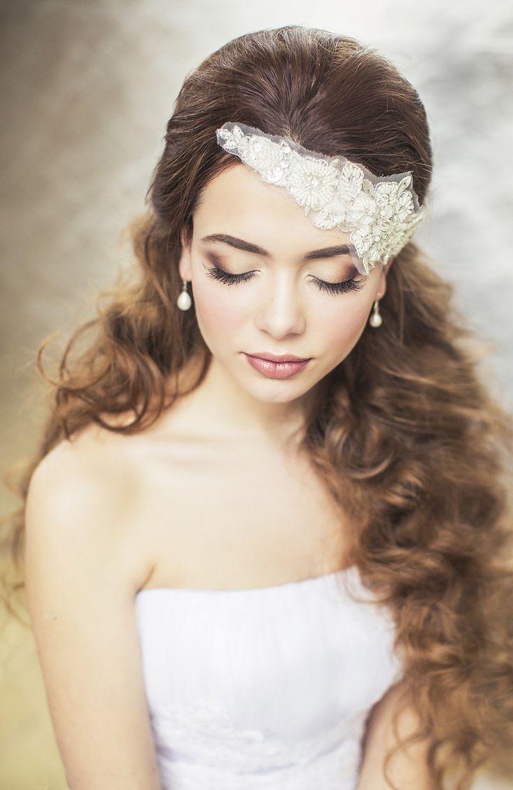 Swoon over jannie baltzer s wild nature bridal headpiece collection - Wedding Accessories