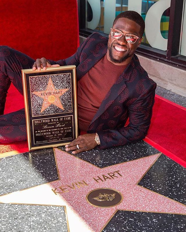Congrats #KevinHart, it's well-deserved! 👏  #Repost @kevinhart4real: Hard work pays off....This is just the beginning people. I'm inspired & motivated to do so much more. The last name HART will have a powerful meaning when it's all said and done!!!! The road to making the world laugh continues....Let's make History this weekend damn it!!!! #WhatNow #comedicrockstarshit #DopePic #4DaysAway
