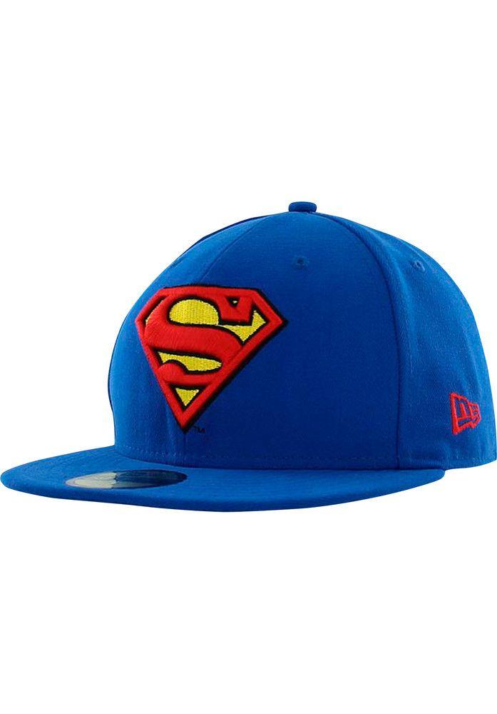 Titus DailyDeal: New-Era 59Fifty-Charact-Basic-Superman - titus-shop.com  #Cap #AccessoriesMale #titus #titusskateshop