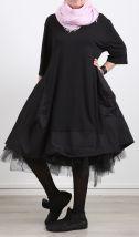 barbara speer - Kleid Halbarm Cotton Jersey black - Sommer 2017
