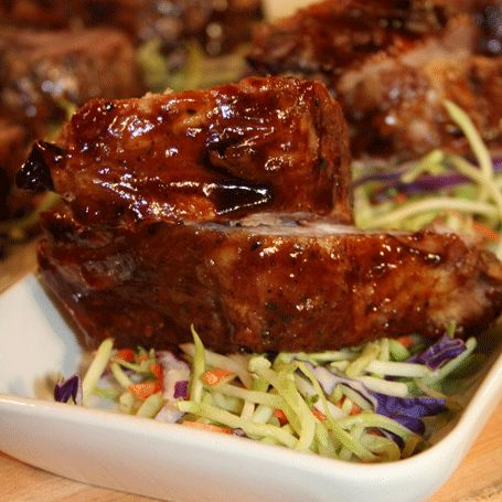 Pork Ribs in Mango Sauce | Hispanic Kitchen