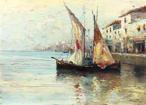 Bărci la Veneția - Constantin (Constion) Ionescu