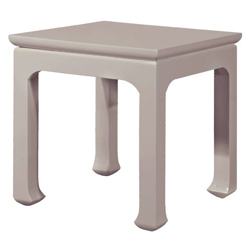 Harlow Tea Table in Taupe from PoshTots