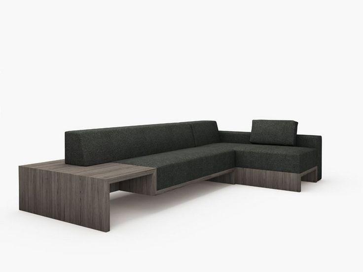 Modern sofa design slow minimalist modern modular sofa for Minimalist sofa design