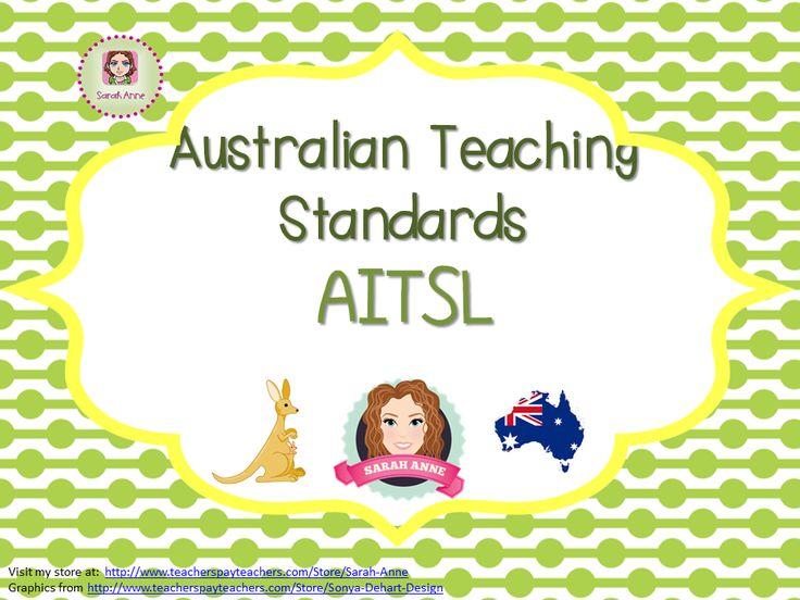 57 best australian teacher standards aitsl images on pinterest