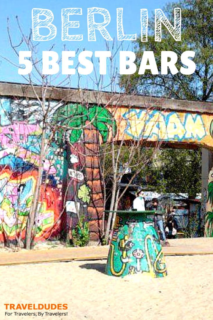 'Poor but Sexy': 5 of the Best Bars in Berlin  Berlin celebrated 25 years since the Fall of the Wall this November and to mark the occasion I have compiled a list of 5 of the best bars in the city.    Shared by Tiny Traveller on the Travel Dudes Social Travel Community
