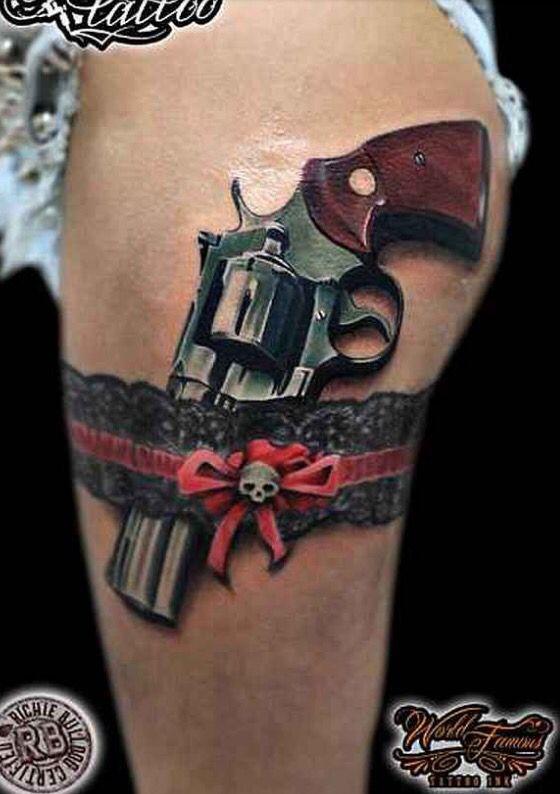 gun tattoos ideas