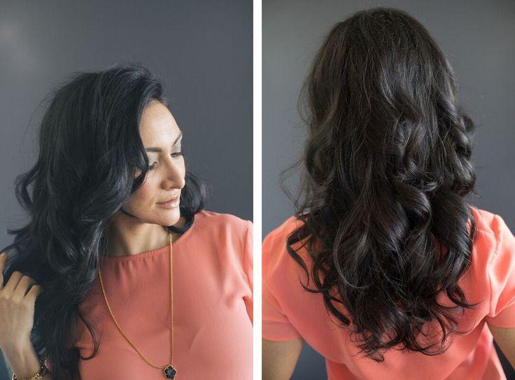 Kim Kardashian Inspired Curls